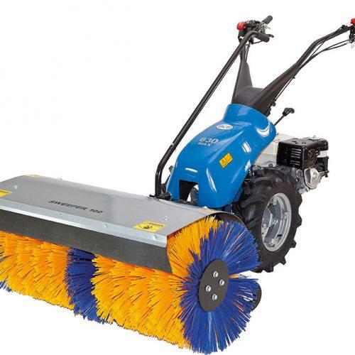 BCS 630 Max tweewiel tractor met bezem DEMO
